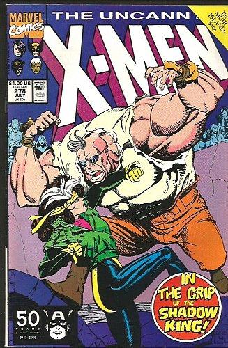 WOLVERINE: Uncanny X-men #278 1st print 1991 Marvel Comics