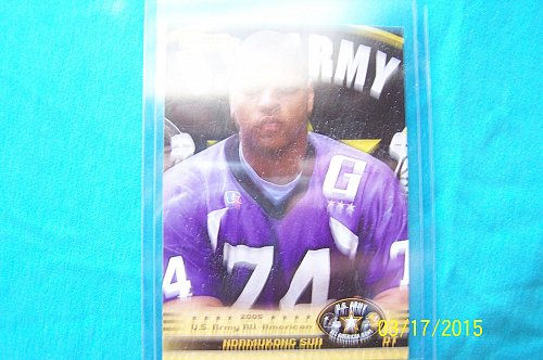Ndamukong Suh 2010 U.S. Army All-American Bowl Rookie Card