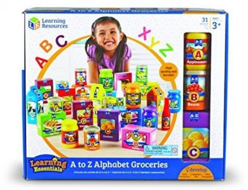 Learning Resources A To Z Alphabet Groceries Toy