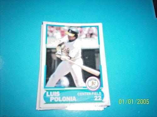 1988 Score Young Superstars series 1 baseball LUIS POLONIA #22 FREE SHIP