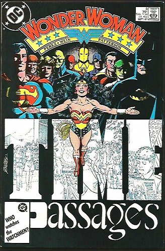 WONDER WOMAN #8 VF- 1987 DC Comics GEORGE PEREZ Len Wein Passages