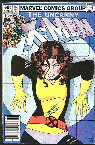 Uncanny X-men #168 Marvel Comics 1983 1st print & series VG+/Fine range