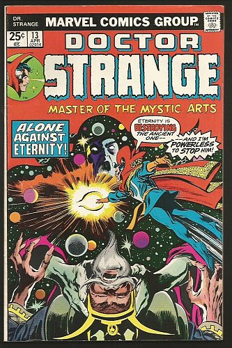Dr. Strange #12 Marvel Comics GENE COLAN 1975 Very Fine- range orBetter