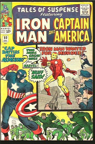 Tales of Suspense #60 Capt. America Iron Man Jack Kirby 1964 1st Print & Series