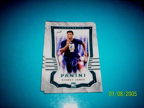 2017 PANINI FOOTBALL CARD OF ROOKIE SIDNEY JONES EAGELS #140 free shipping