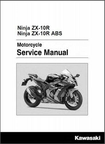 2016 Kawasaki Ninja ZX-10R Service Repair Manual on a CD - ZX1000RG ZX1000SG
