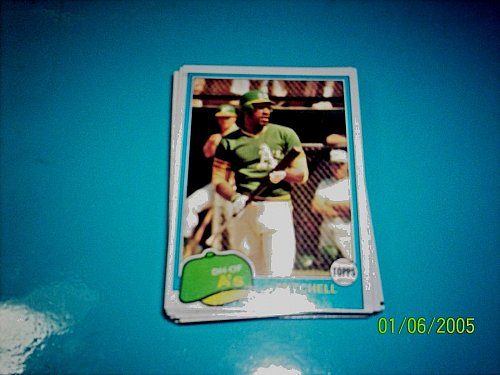 1981 Topps BASEBALL CARD OF MITCHELL PAGE #35 MINT FREE SHIPPING