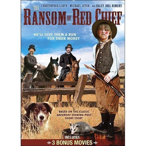 4movie DVD The Ransom of Red Chief,The Great Elephant Escape,Old 587,Great Train