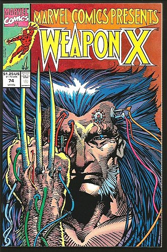 Marvel Comics Presents #74 WEAPON X WOLVERINE Marvel Comics LOGAN Barry W. Smith