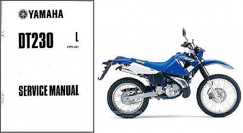 1999-2000 Yamaha DT230 LANZA Service Repair Workshop & Parts Manual CD -- DT 230