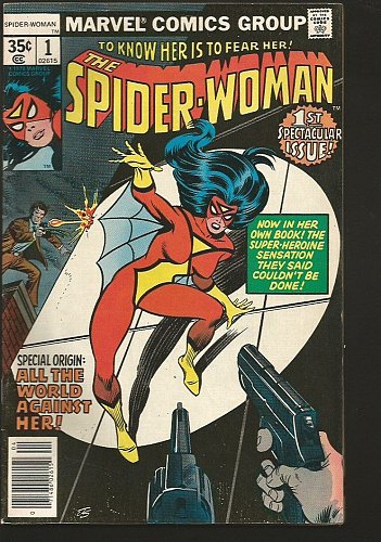 SPIDER-WOMAN #1 & #2 Marvel Comics 1978 Very FINE + range 1st Series