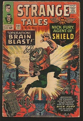 Strange Tales #141 Dr. Strange: Ditko, Shield: Jack Kirby1966 VG-/VG Stan Lee