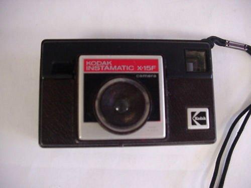 Vintage Kodak Instamatic X-15f 126 Camera w/strap