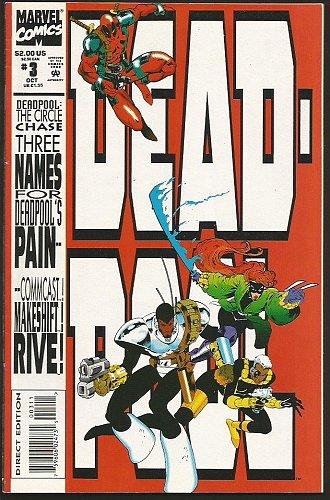 Deadpool #3 Marvel Comics 1993