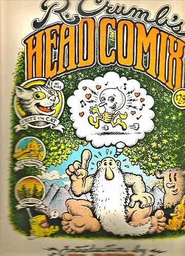 R. Crumbs HEAD COMIX VERY LARGE Robert CRUMB Underground Comics