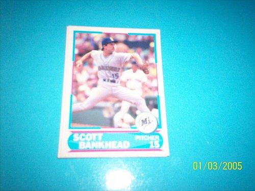 1988 Score Young Superstars series 11 baseball SCOTT BANKHEAD #37 FREE SHIP