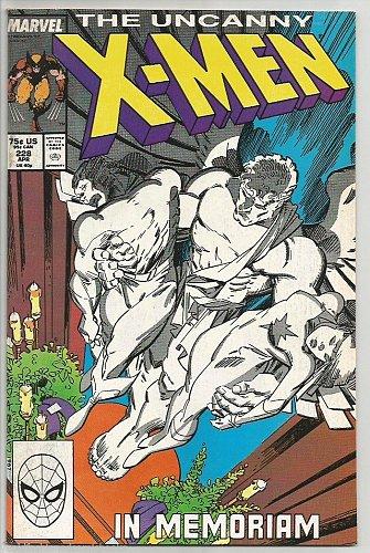 The UNCANNY X-MEN #228 Marvel Comics 1988 High Grade NM