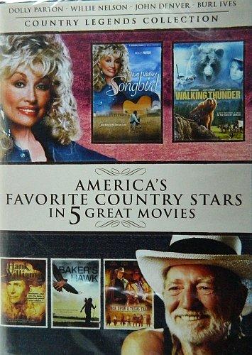 5Movie DVD Hank WILLIAMS Burl IVES Dolly PARTON Sneezy WATERS John DENVER