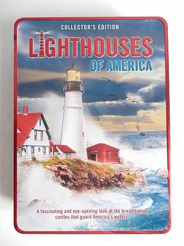 Lighthouse s of America DVD FIVE MILE,Neds Point,NUBBLE,Owls Head,JUDITH,MONTAUK