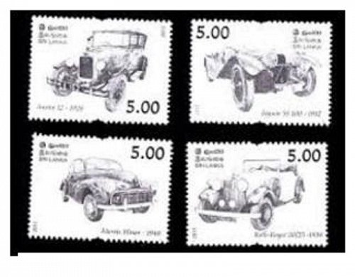 Sri Lanka: SRI LANKA- Vintage Cars 2011- Jaguar- Austin- Rolls Royce- Morris Min