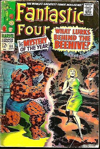 Fantastic Four #66 HIM=WARLOCK Key Lee / Kirby 1st print GUARDIANS of the GALAXY