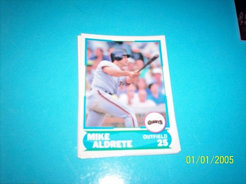 1988 Score Young Superstars series 1 baseball MIKE ALDRETE #35 FREE SHIP