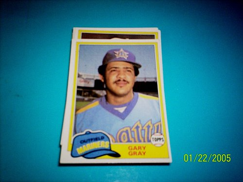 1981 TOPPS TRADED GARY GRAY INDIANS #767 MINT free ship