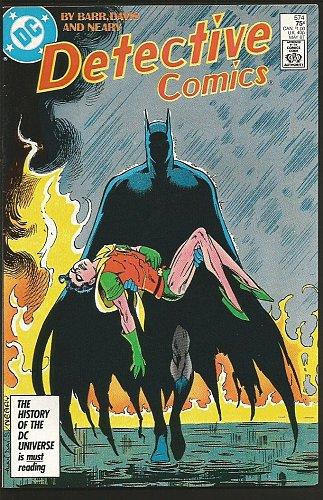 Detective Comics #574 BATMAN DC Comic Book 1987 Barr Davis Neary Origin RetoldOF