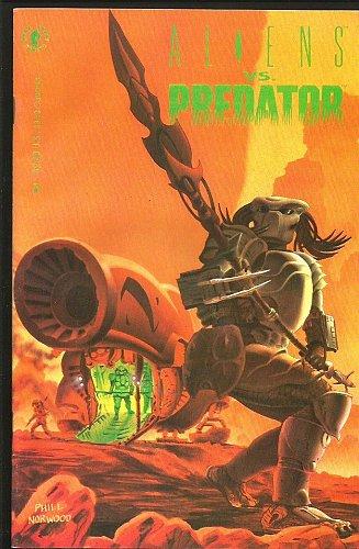 Aliens Vs Predator #1 Dark Horse Comics 1st print 1990