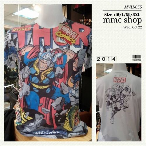 Thor Multi-Color Cotton T-Shirt Super Hero