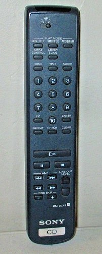 SONY RM DC43 five disc changer REMOTE CONTROL CDP C415 CDP CE415 CDP C36 C360Z