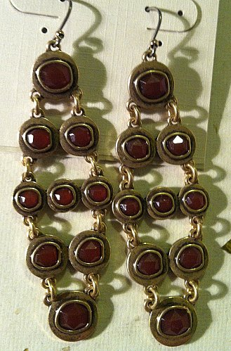 Lucky Brand Chadellier Earrings Model number JLRY3512