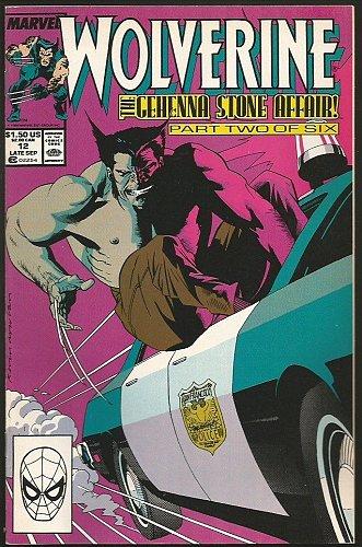 LOGAN, Wolverine #12 Marvel Comics High Grade NM- Peter David Buscema 1989