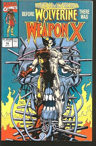 Marvel Comics Presents #72 -1st WEAPON X WOLVERINE Barry Windsor Smith KEY Issue