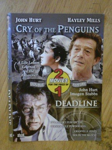 DEADLINE & Cry of the Penguins COLOR DVD John HURT Hayley MILLS Imogen STUBBS