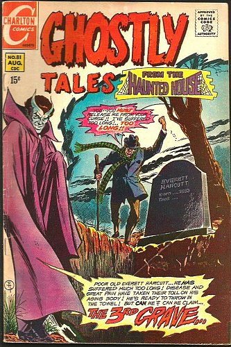 Ghostly Tales #81 STEVE DITKO art/story CHARLTON COMICS 1970