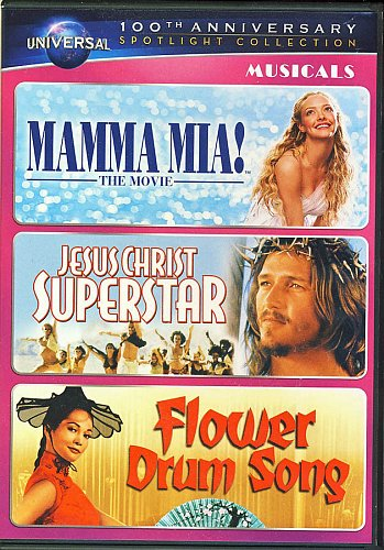 3movie DVD Mamma Mia,Meryl STREEP Pierce BROSNAN Nancy KWAN Colin FIRTH Jack SOO