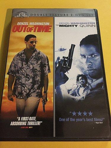 Out of Time & Mighty Quinn DVD Eva MENDEZ Dean CAIN Mimi ROGERS James FOX