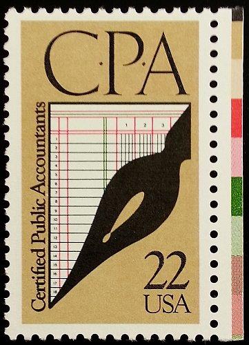 1987 22c C.P.A. Certified Public Accountants Scott 2361 Mint F/VF NH
