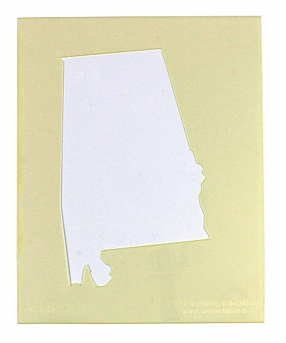 State of Alabama Stencil -14 mil Mylar Painting/Crafts
