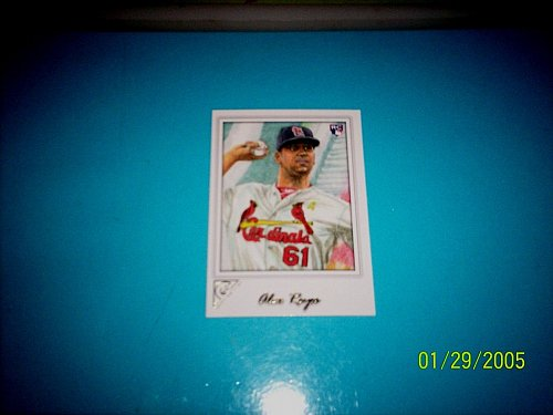 2017 TOPPS GALLERY ROOKIE CARD CARDINALS ALEX REYES #71