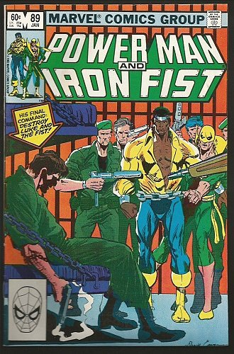 Power Man and Iron Fist #89 Marvel Comics FINE 1983 Cowen Denny O'Neil