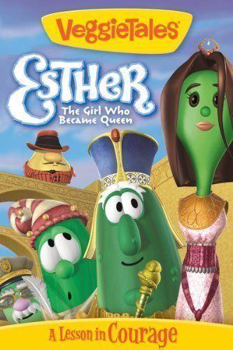 Esther: The Girl Who Became Queen VeggieTales DVD (400)