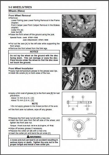 2016-2017 Kawasaki Z125 / Z 125 Pro Service Manual on a CD