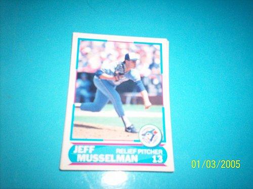 1988 Score Young Superstars series 11 baseball JEFF MUSSELMAN #30 FREE SHIP