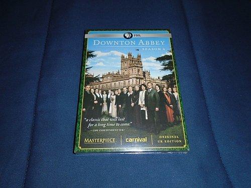 DOWNTON ABBEY fourth SEASON 4th DVD downtown Elizabeth MCGOVERN Maggie SMITH