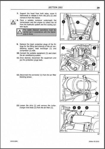 McCormick CX90 CX100 CX110 Tractor Service Repair Manual CD ---- CX 90 100 110