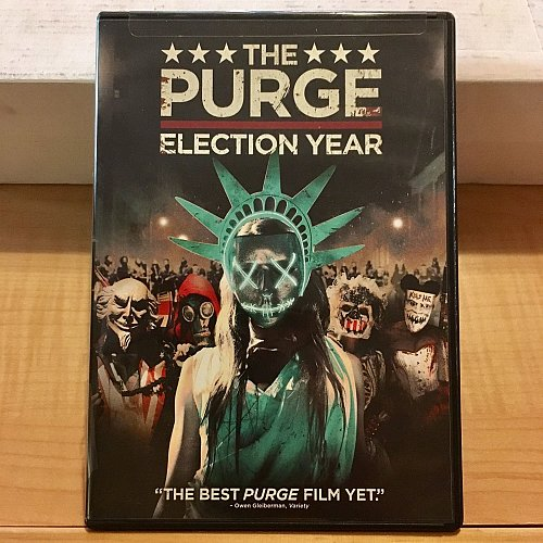 The Purge Election Year DVD 2016 Frank Grillo Edwin Hodge Elizabeth Mitchell