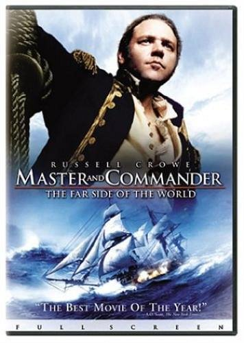 Master and Commander far side of the world WS DVD Russell CROWE Paul BETTANY