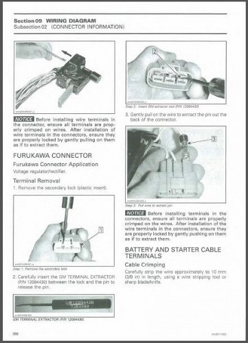 2011-2012 Can-Am Commander 800R / 1000 LTD Service Manual on a CD